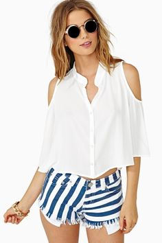 Easy Breeze Crop Top