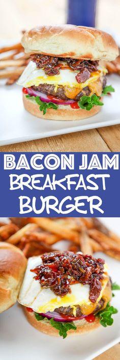 Breakfast Burger: Ju
