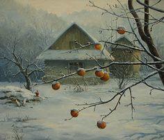 Winter Painting by Igor Ropyanyk Ukranian  Love it