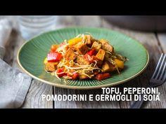 Il tofu in padella peperoni germogli di soia è un modo furbo e veloce per cucinare il tofu. Ecco la ricetta veloce per prepararlo al meglio