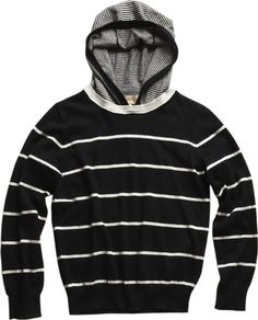 Frank & Lu Boys Duo Stripe Hoody Sweater Made of cotton cashmere fine gauge jersey, this hoody is all the comfort a kid wants with just the right amount of warmth for Mom. @allthingsfadra