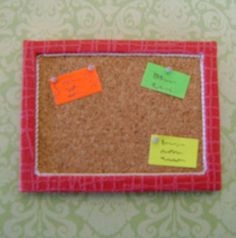 how to: memo board