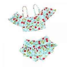 Cherry Print Swimsuit