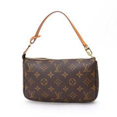 Louis Vuitton Pochette Accessoires(Old Model) Monogram Small bags Brown Canvas M51980