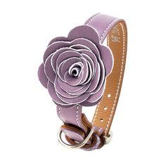 Flower Child Collar XL-3XL Prpl,
