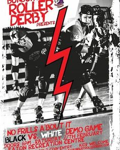 Yeah!!! Next Saturday!!! Exhibition bout - the cheapest thrill in Bunbury - only a gold coin donation!!  This could be YOUR intro to roller derby  #brdistheword #bunburyrollerderby #exhibitionbout #rollerderby #bunburyisok #bunbury #southwest #beboldbebrave by bunburyrollerderby