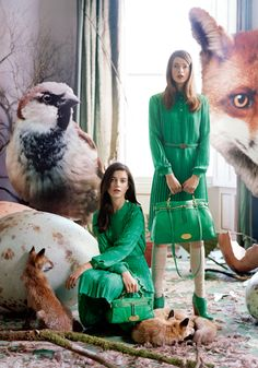 Mulberry Ad Campaign <3