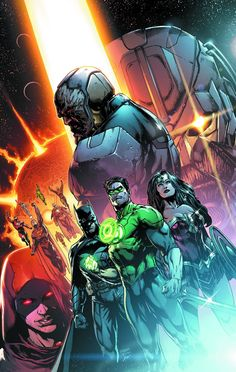 """The critically acclaimed team of Geoff Johns and Jason Fabok present the much anticipated, extra-sized first chapter of """"DARKSEID WAR""""! When the Justice League investigate a series of unexplained murd"""