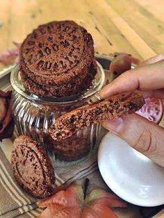 Paleo Low Carb Schokoaldenkekse Schoko-Cookies mit feiner Schokolade Weihnachtsbäckerei
