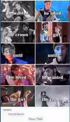 WRONG!!!!!! HANS NEVER REALLY LOVED ANNA SUPPOSEDLY!!!