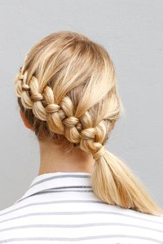 This four-strand braid tutorial will blow your mind.