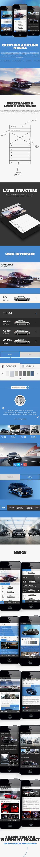 Lexus 'Creating Amazing' Mobile by Sean Hobman, via Behance