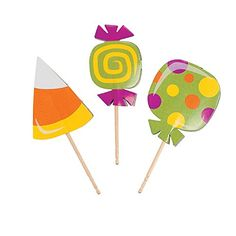 Halloween Trick or Treat Food and Cupcake Picks - 25 pcs Nhcostumes.com http://www.amazon.com/dp/B00EF3ZKD0/ref=cm_sw_r_pi_dp_MN3Hvb01B2VQG