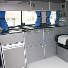 VW T5 Campervan Conversion, Smev 9222, Waeco CR-50