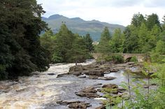Scotland - Killin on http://alovelyworld/ #Scotland #river #photos