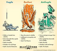 On Becoming Antifragile : While resilience is great, it may not be our best goal. In this post we look at Nassim Nicholas Taleb's book, 'Antifragile. Art Of Manliness, Nassim Nicholas Taleb, Gold Stock, Man Up, Chivalry, Words To Describe, Survival Skills, Survival Tips, Self Improvement