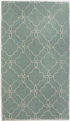 This is a rug but it gives me an idea....Dry emboss vellum and adhere it over blue card stock. Pretty!