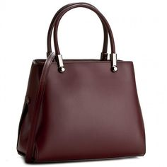 Torebka CREOLE - K10301 Bordowy Feeling Special, Dark Red, In This Moment, Handbags, Model, Totes, Scale Model, Purse