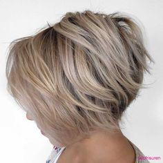2017-kurze-frisuren-fur-feine-haare | Bob Frisuren 2017 | Damen Kurzhaarfrisuren und Haarfarben Trends