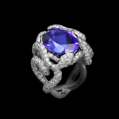 Tanzanite Ring from the Lorenz Baumer Collection