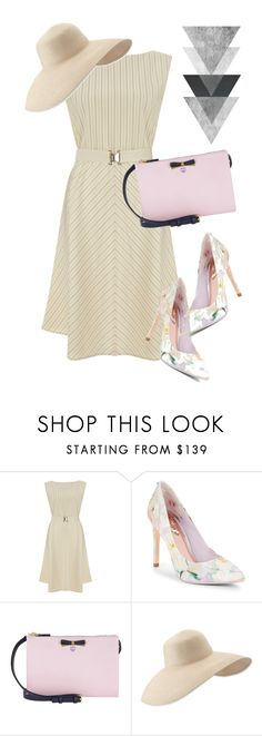 """""""dress"""" by masayuki4499 ❤ liked on Polyvore featuring Theory, Ted Baker, MCM and Eric Javits"""