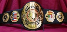 Introducing the TRB Texas Heavyweight title! This beautiful design would work great for any regional title. Instead of the overdone Texas designs we o Japan Pro Wrestling, World Heavyweight Championship, Wwe Champions, Ultimate Fighting Championship, Professional Wrestling, Mixed Martial Arts, Wwe Superstars, My Favorite Part, Old School