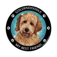 Goldendoodle My Best Friend Dog Breed Magnet