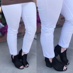 Herren Stretch Bündchen Saum Jogger Slim Ripped Designer Skinny Jeans