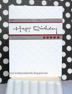 Ivanka's Card Studio: Happy Birthday