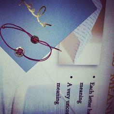 Il #Feelo di @qcanna. #MadeInItaly #Jewelry #Letters #Bracelet #Instagram #HandMade