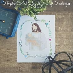 { BEFORE YOU BUY }  This listing is for a Physical Art Print/Gift Package.  If you would like to customize a print and have me email the files to you, please visit the 'Custom Designs' section. I also offer instant printables for all my prints. To see all of my printable listings, please vi