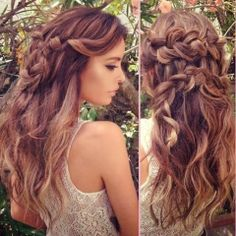 thick + braids