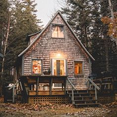 "1600 wood plans - wild-cabins: ""Max Ablicki "" Woodworking Drawings - Get A Lifetime Of Project Ideas and Inspiration! Lofts, Future House, My House, House Floor, Farm House, Do It Yourself Furniture, Easy Wood Projects, Project Ideas, Autumn Cozy"