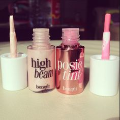 High Beam + PosieTint- Benefit make up