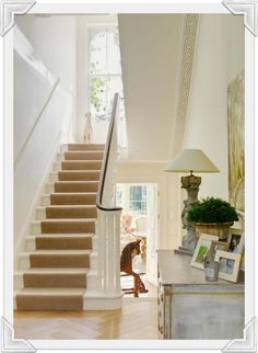 White Room with a Staircase