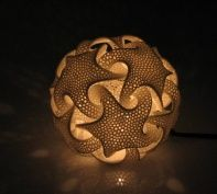 Transform any space with the mystical Quin.  3d print patterns