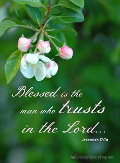 ❥ Blessed is the man who trusts in the Lord. Amen