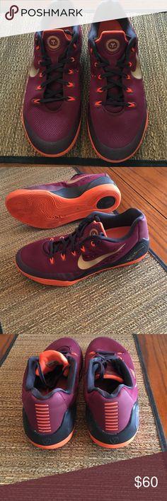 84848ec7a7e99d Kobe Nike Basketball Shoes mens size Kobe Nike basketball shoes mens size Deep  garnet (maroon)
