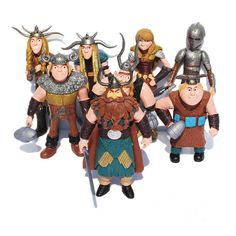 8pcs/set How To Train Your Dragon Toys Night Fury Toothless How To Train Your Dragon Anime Figures Toys for Children Boys Gift  #Affiliate
