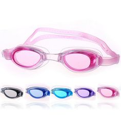 2.51$  Watch now - Children Kids Professional Water Sports Waterproof Anti fog Silicone Diving Swimming Goggles Glasses Swim Eyewear with Pouch Bag   #bestbuy