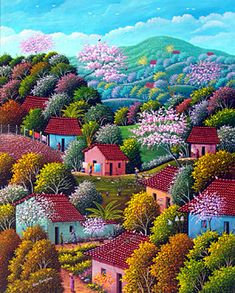 Spring is Busting Out All Over by Alonso Flores of El Salvador