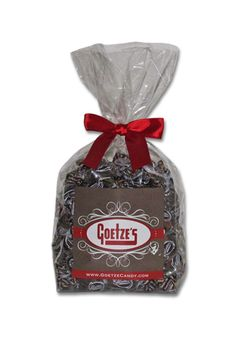 1 1/2 lb.Bag Double Chocolate Caramel Creams® Oh So Yummy Made in USA @goetzecandy