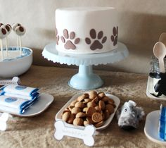 Puppy Party Cute Cake