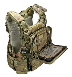 Tactical Gear and Military Clothing News : Modular Tactical System: Wearable Computer for Combat Not particularly a fan of this, but it's an option depending on what you're doing. Tactical Wear, Tactical Clothing, Tactical Survival, Survival Gear, Cool Tactical Gear, Military Gear, Military Equipment, Military Clothing, Military Units