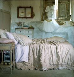 1000 Images About Chambre Coucher Romantique Shabby Vintage On Pinterest Shabby Chic Style