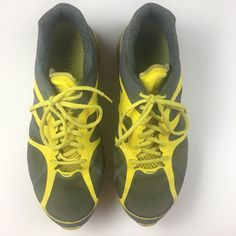 Nike Air Max 2012 Yellow Gray Shoes Athletic Running Trainers #Nike #AthleticSneakers