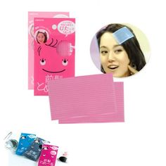 HYL 10Pcs Plastic Magic Paste Posts Fringe Hair Bangs Stickers Korean hairpin * Check out the image by visiting the link. (This is an Amazon affiliate link)