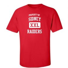 Sidney Senior High School - Sidney, NE | Men's T-Shirts Start at $21.97