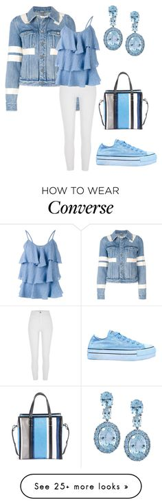 """""""Untitled #2569"""" by twil24 on Polyvore featuring Givenchy, River Island, Paul & Joe, Balenciaga and Converse"""