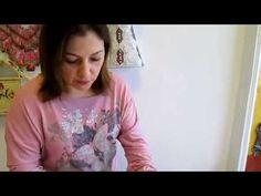 Ahşap boyamada stencil tekniği nasıl uygulanır? - YouTube